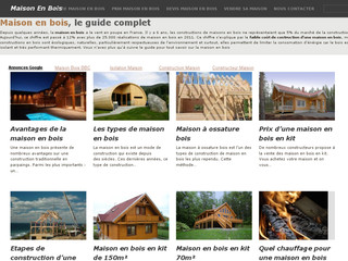 Construction en bois en France